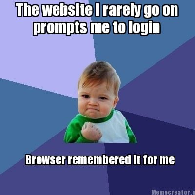 Meme creator the website i rarely go on prompts me to Go to the website