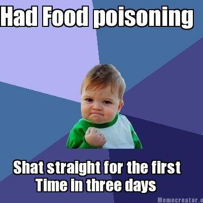 Food Poisoning Meme