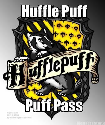 hufflepuff puff pass