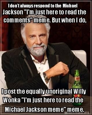 Obama meme im just here