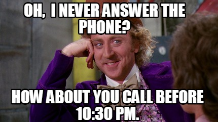 Answer The Phone Answer The Phone Meme