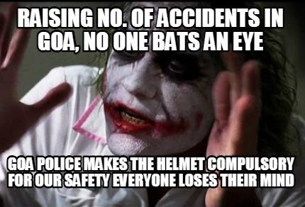 Helmet Compulsory