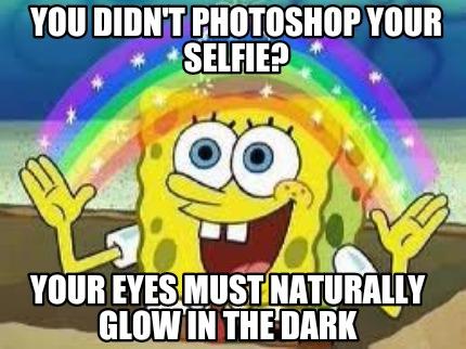 how to make glow eyes photoshop