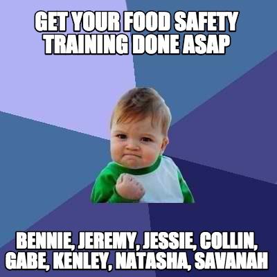 Food Safety Memes