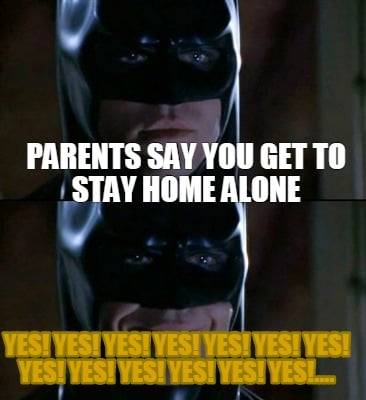 how to ask your parents to stay home